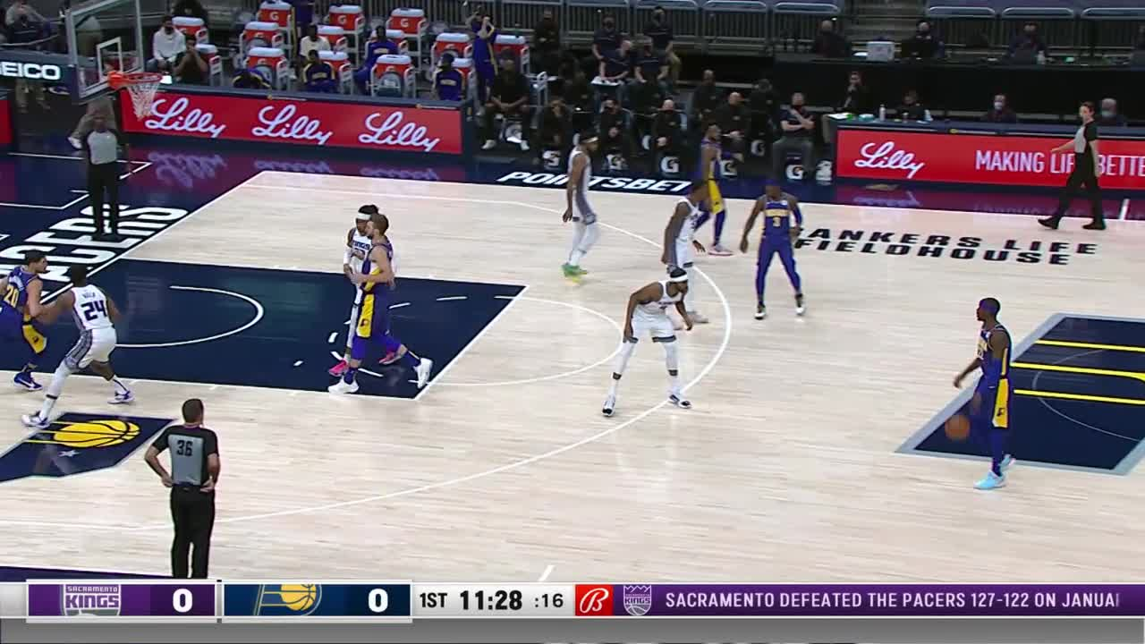 Pacers Start with Slam